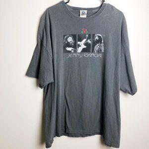 Vintage Liquid Blue 90's Jerry Garcia T Shirt